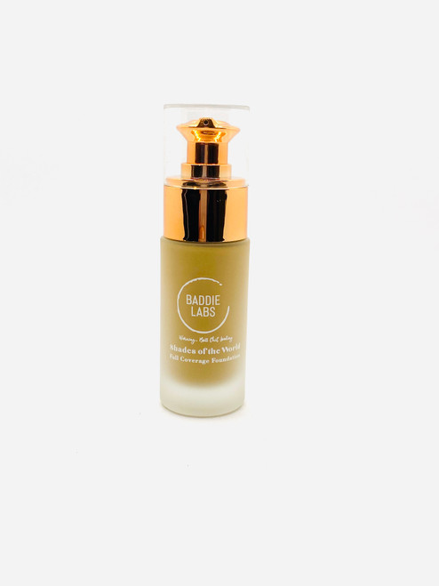 Baddie Labs Shades of the World Full Coverage Hydrating Foundation Unite 16