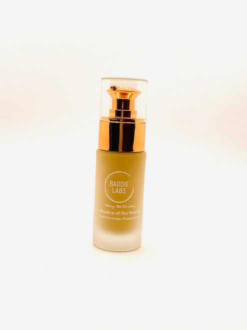 Baddie Labs Shades of the World Full Coverage Hydrating Foundation Unite 27