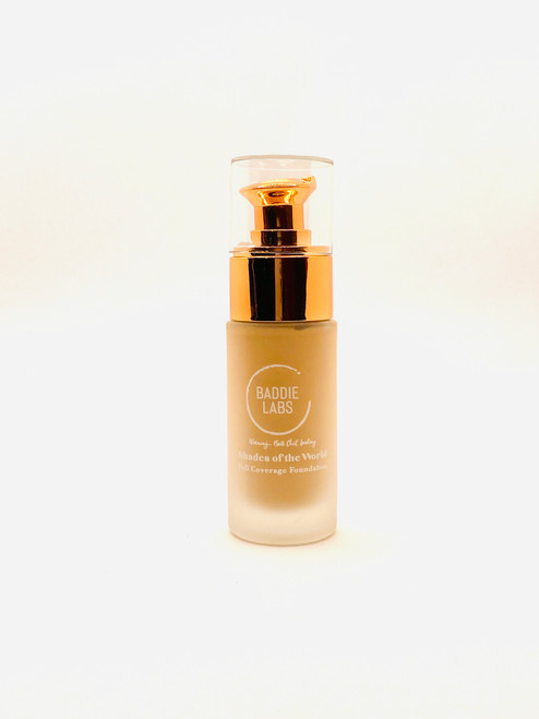 Baddie Labs Shades of the World Full Coverage Hydrating Foundation Unite 37