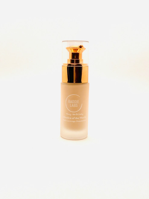 Baddie Labs Shades of the World Full Coverage Hydrating Foundation Unite 39