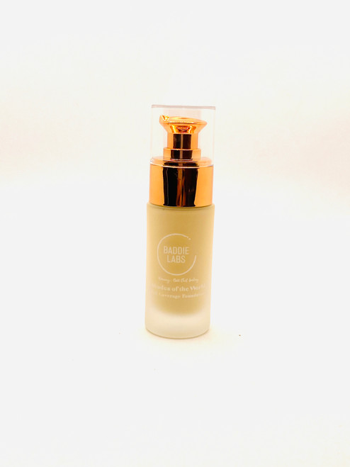 Baddie Labs Shades of the World Full Coverage Hydrating Foundation Unite 40