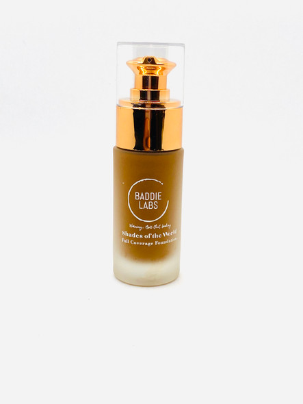 Baddie Labs Shades of the World Full Coverage Hydrating Foundation Unite 5