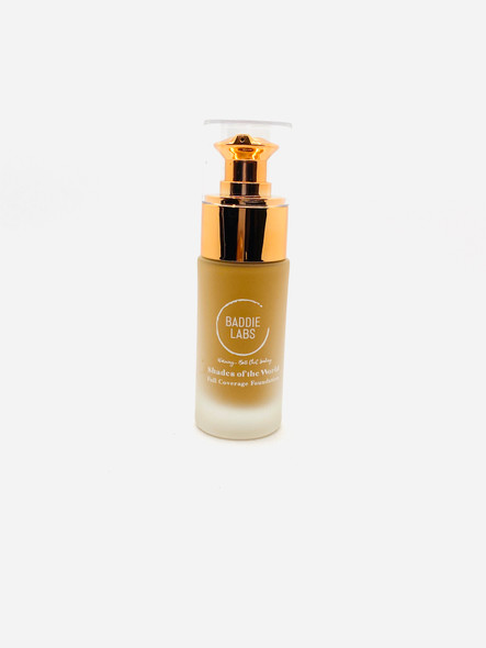 Baddie Labs Cosmetics hades of the World Full Coverage Hydrating Foundation Unite 17
