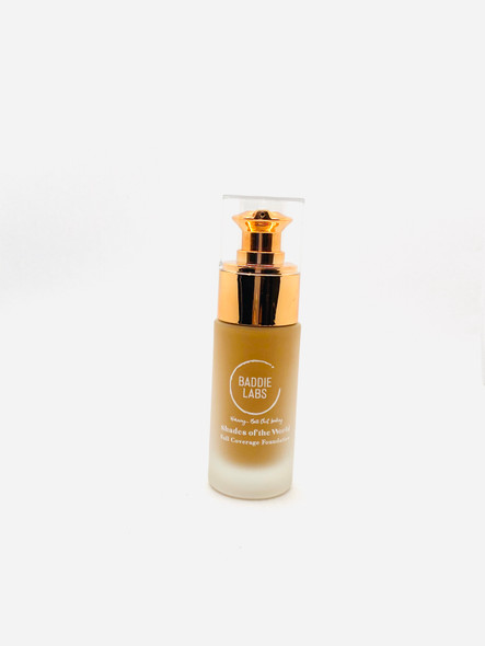 Baddie Labs Shades of the World Full Coverage Hydrating Foundation Unite 18