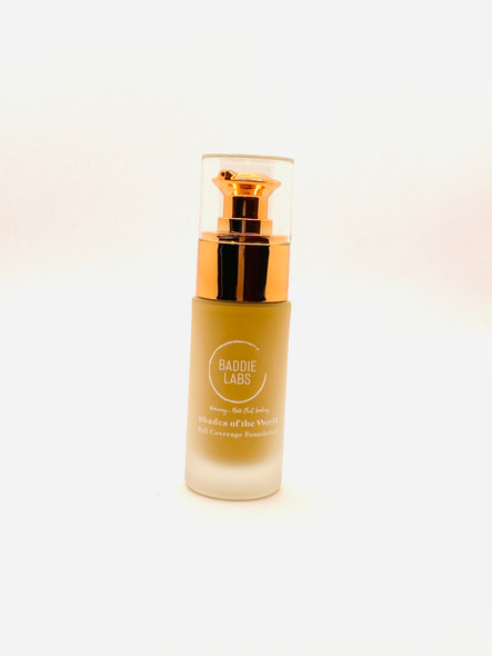 Baddie Labs Shades of the World Full Coverage Hydrating Foundation Unite 28