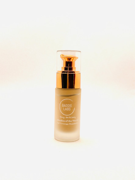 Baddie Labs Shades of the World Full Coverage Hydrating Foundation Unite 33