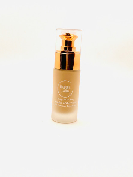 Baddie Labs Shades of the World Full Coverage Hydrating Foundation Unite 35