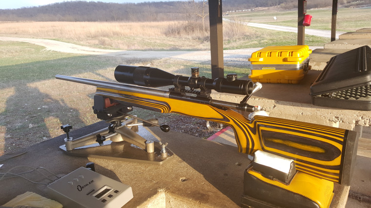 Example of Urbanrifleman benchrest rifle build