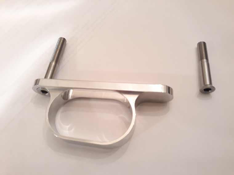 BAT MACHINE aluminum trigger guard I want my customers to buy for their Revolution Benchrest Remington 700 stock.