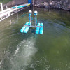 Aerators for getting rid of muck in lake pond beach - high oxygen transfer