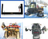 Digger anchor ice auger mount rack carrier fourwheeler utv snowmobile