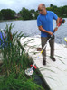 avg gas powered cattail lily pad weed cutter