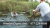 Aquatic Vegetation Groomer Float Attachment