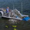 In Use Lake Weed Harvesting Machine
