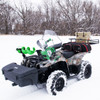 Snowmobile Ice Auger Carrier Mount   Jaws of Ice Auger Holder