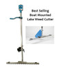 Large Electric Boat mounted Lake Weed Cutter