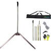 Seaweed lake weed pond grass cutter beach cleaning package with pitch fork