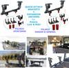 Ice auger rack carrier for polaris ranger general UTV