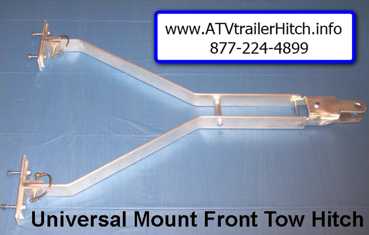 Digger Universal Front Trailer / Sled Hitch for ATV and Snowmobile