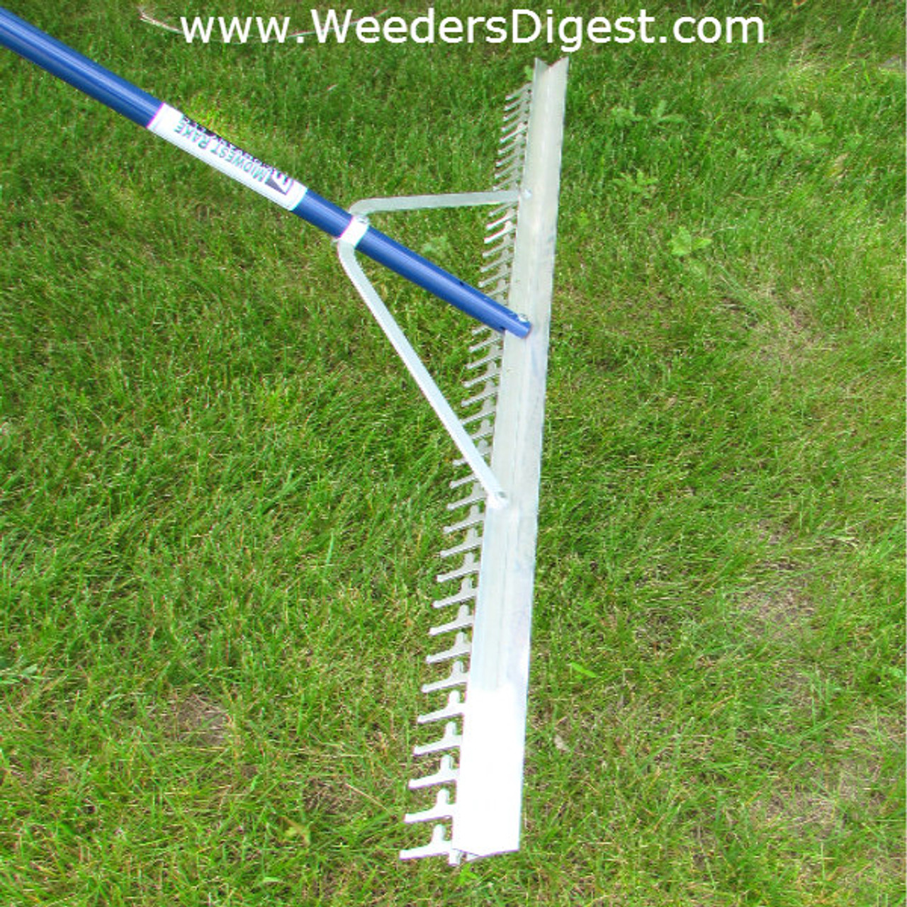 Super Long & Wide Lake Weed & Beach Landscaping Rake