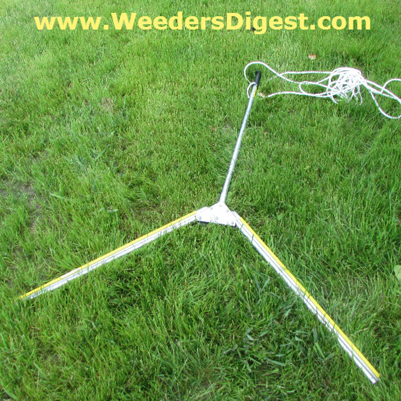Weed Shear Razor Sharp Aquatic Seaweed tool for cutting lake & Pond Weeds
