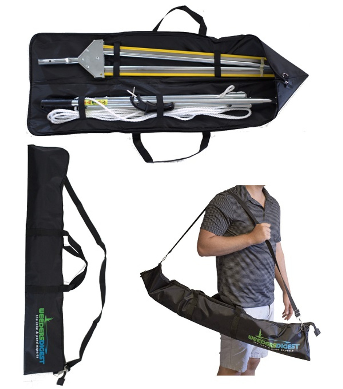 weedshear lake weed cutter plus carrying case