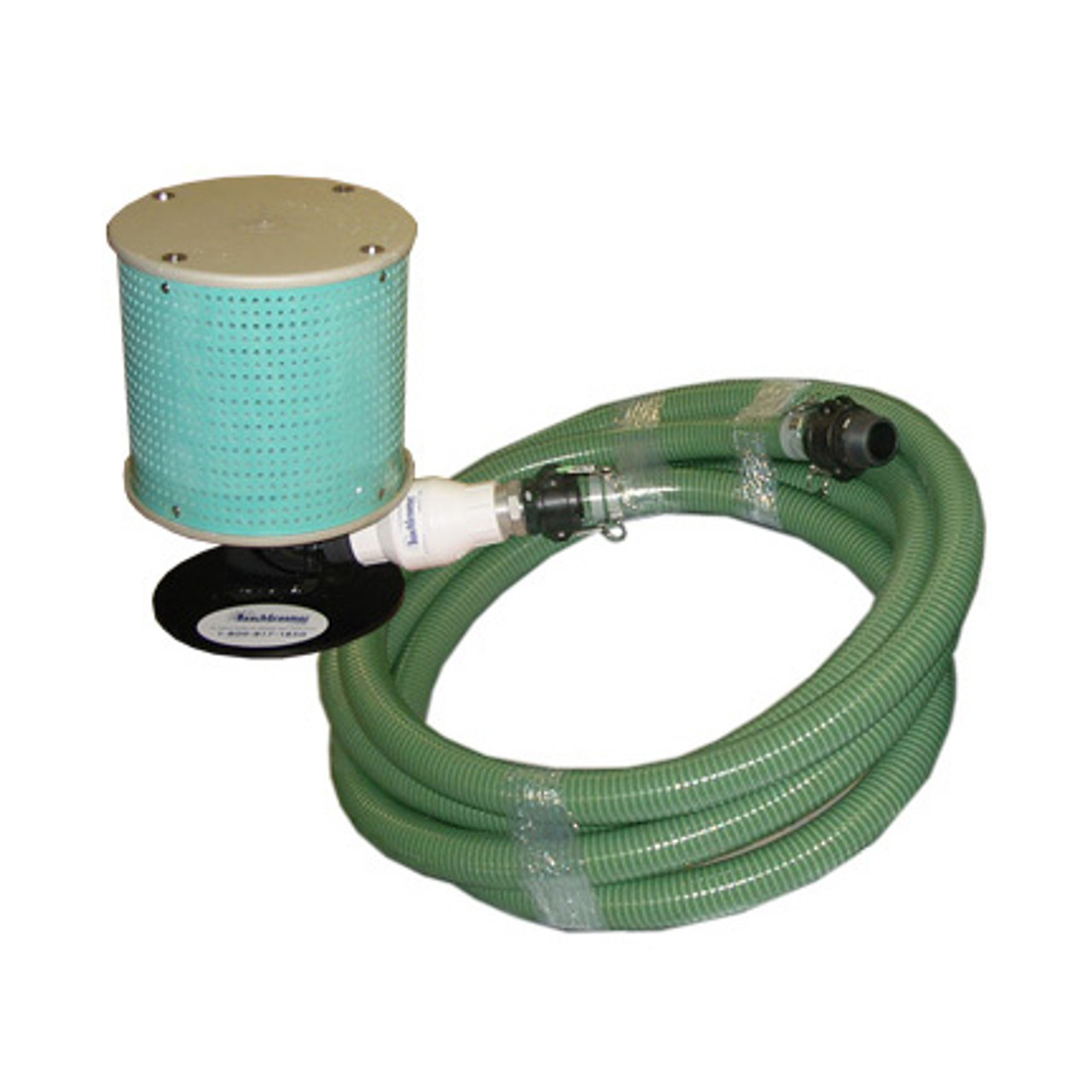 80 gallon Filter w/Stand, 33' Suction Hose and Check Valve for Lawn Irrigation Pump Package 2 hp