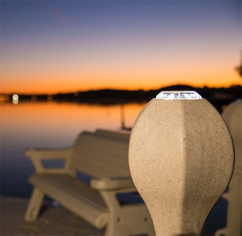 Wave Armor Solar Dock Lights