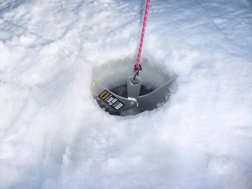 Ice Angel - Ice Fishing Anchor for your shack or ice house