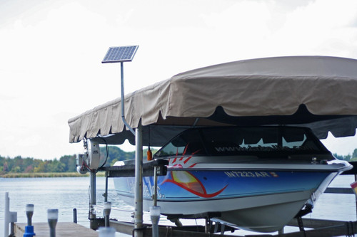 Solar Charging Station for Boat Lift & Dock