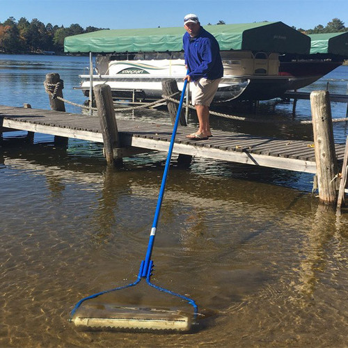 Manual Lake Pond Weed Beach Roller cutter puller remover