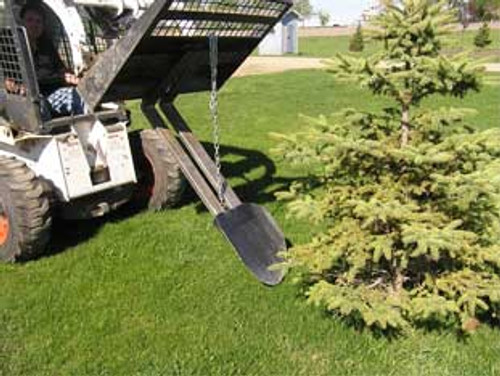 Paumco Quick Spade Fork attachment for bobcat for sale
