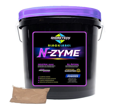 N-Zyme | Eco-friendly Pond & Lake Water Clarifier Powder Bacteria
