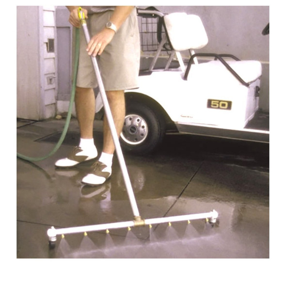 "Midwest Rake  48"" Jet Blast Water Broom with 12 Nozzles"