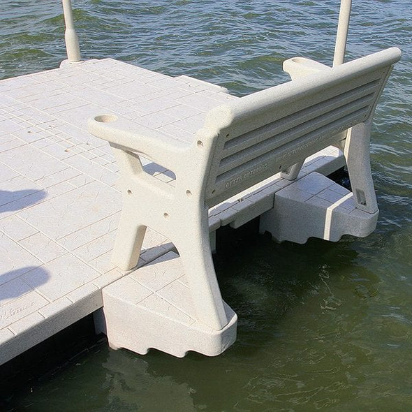 Wave Armor Dock Bench Attachment System