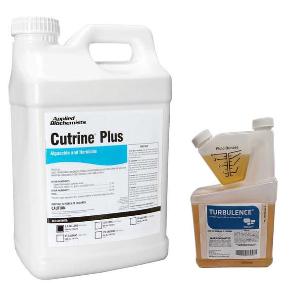 Cutrine Plus Algeacide with Aquatic Adjuvant
