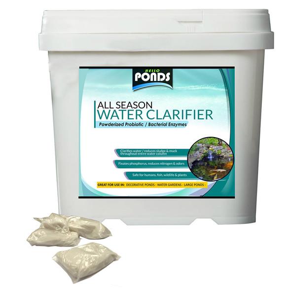 Pond Water Clarifier  Powder Bacteria Sludge Reducer 1oz packets