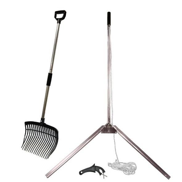 Weedshear Lake Weed Cutter and Pitch Fork Package