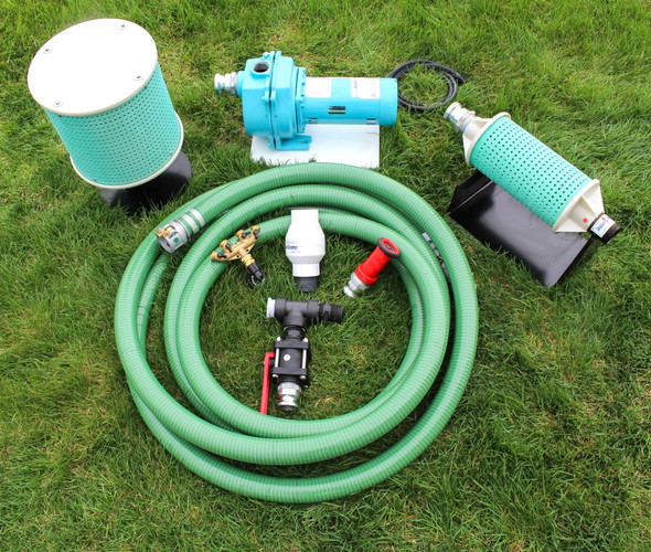 lake pond lawn irrigation pump kit