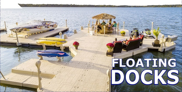 Wave Armor | Modular Floating Docks
