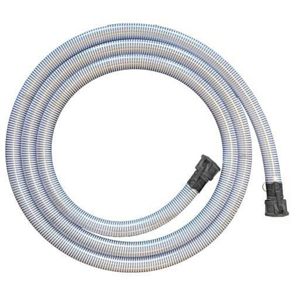 50 ft Discharge Hose with Quick Connects for Lawn Irrigation Pump