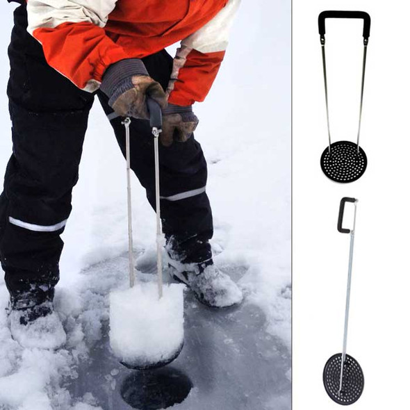 One Shot Ice Skimmer Pro Ice Fishing Scoop
