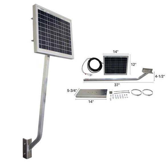 Solar Battery Charging System - 12V