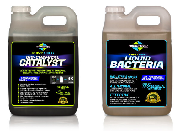 Bio Catalyst + Liquid Bacteria   Black Label Bac-Pac