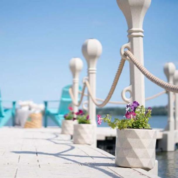 Wave Armor Docks Flower Pot