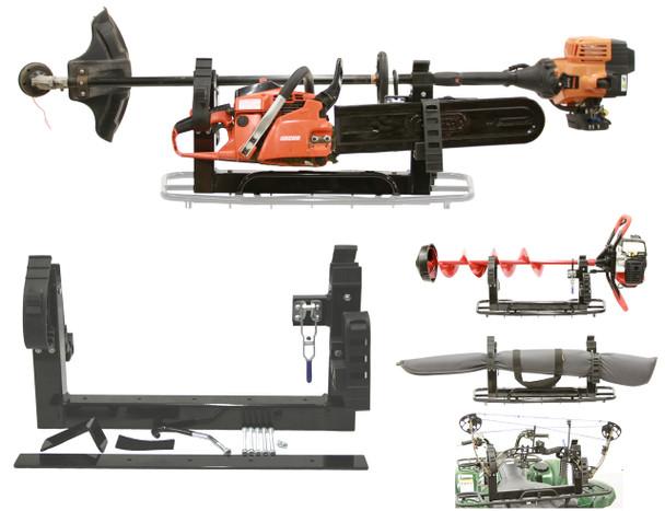 Digger Tool Carrier for Four wheeler  atv utv mount for bow gun power tools ice auger