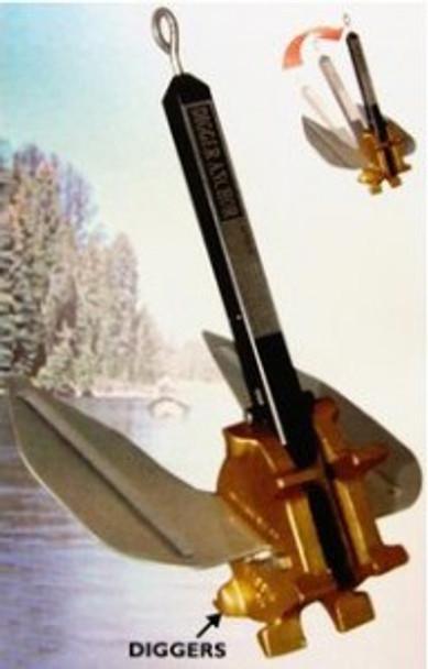 Digger Boat Anchor - pontoons & boats