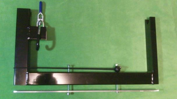 Ice Auger Carrier for ATV or Snowmobile -  jiffy, eskimo, nils master strikemaster
