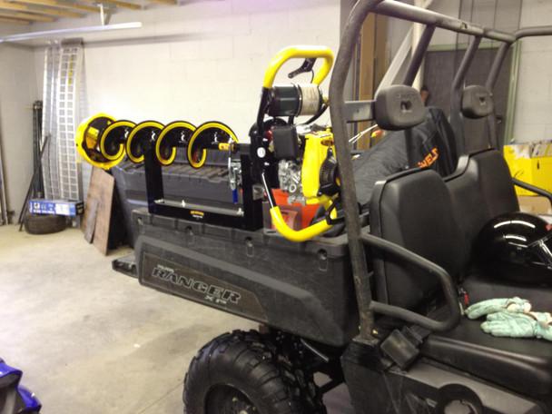 Digger Ice Auger Carrier Rack Mount for ATV Snowmobile UTV