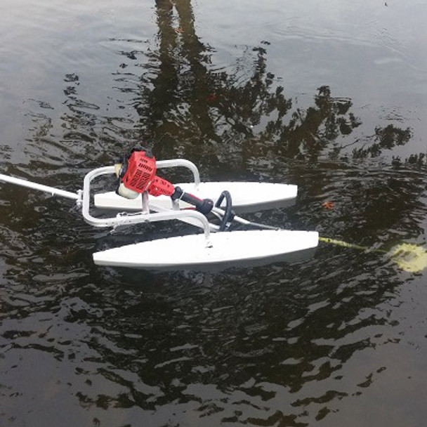 Aquatic Vegetation Groomer Float Attachment